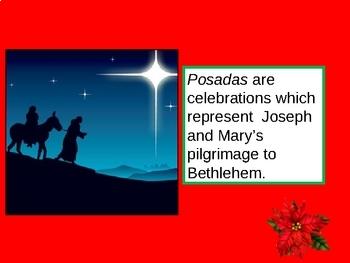 La Navidad en Mexico: Las Posadas.Christmas Mexico (English slides)