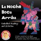 La Noche Boca Arriba Embedded Readings and Activities (lev