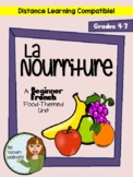 La Nourriture - BEGINNER FRENCH Food-Themed Unit (Grade 4-7)