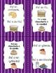 La Nourriture - French Grains Food J'ai...Qui a?