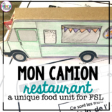 La Nourriture Un Camion Restaurant French Food Unit