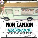 La Nourriture Un Camion Restaurant French Food Unit