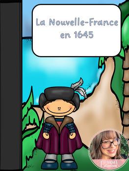 La Nouvelle-France en 1645
