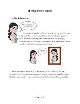La Nueva Alumna Story- Internado- Subjunctive, Preterite, Imperfect-