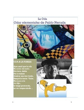 La Oda. Odas elementales de Pablo Neruda