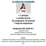 La Organización Social - La cultura de cancelación (cancel