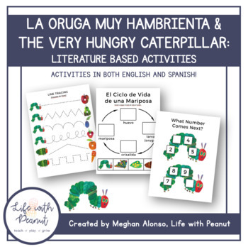 La Oruga muy Hambrienta / Very Hungry Caterpillar Literature Based Activities