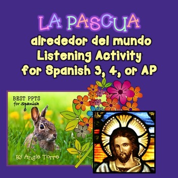 La Pascua | Easter Traditions in Spanish-Speaking Countries Listening Activity