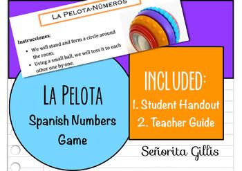 La Pelota-Números (Spanish Numbers Game)
