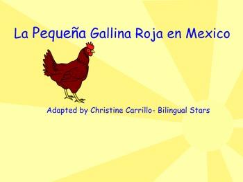 La Pequena Gallina Roja- Red Hen TPRS Story