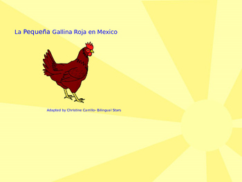 La Pequena Gallina Roja- Red Hen TPRS story- Powerpoint