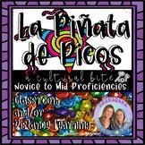 La Piñata de Picos   A Cultural Bite for Novice Learners  
