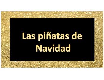 La Pinata de Navidad: Spanish Culture Christmas Mini-Lesson
