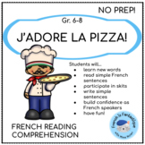 La Pizza: Core French Dialogue and Activities