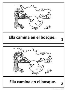 La Pollita Pequeñita {Chicken Little / Henny Penny} Spanish Reader