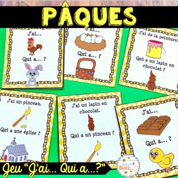 "Pâques - Jeu ""j'ai... qui a...?"" - French Easter game"