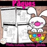 Pâques - mots croisés, cachés, fléchés - French Easter