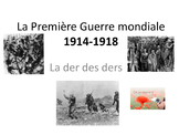 French Teaching Resources. Premiere Guerre Mondiale. World War 1/ Armistice.