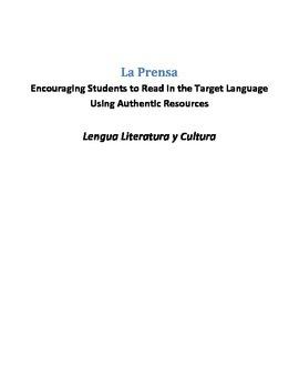 La Prensa - AP Spanish Language and Culture