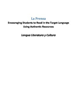 La Prensa - AP Spanish Language and Culture