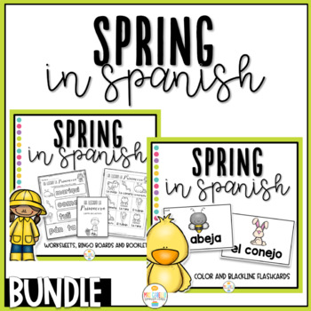 La Primavera - Bundle - Activity Pack (Spring in Spanish)