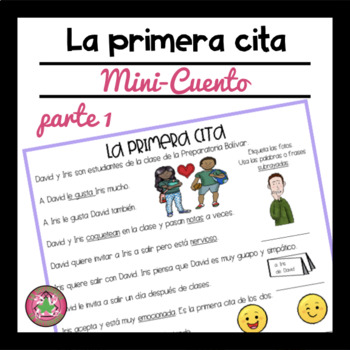 La Primera Cita Reading Comprehension Passage and Questions