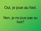 La Question du Jour Group 3 + 4 – Question of the Day in French