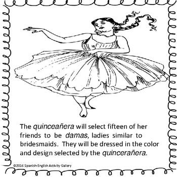 La Quinceanera Coloring Book