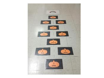 La Rayuela de Halloween