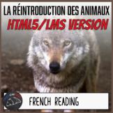 La Réintroduction des Animaux - HTML5/LMS version