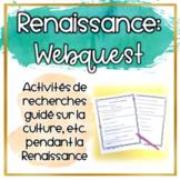 La Renaissance : WebQuest