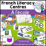 La Rentrée Scolaire:  Back to School Vocabulary Activities