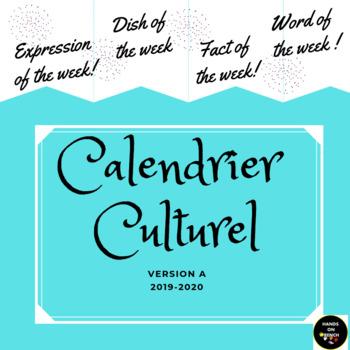 La Rentrée 2018 2019 Calendar- French Culture, Idiomatic expressions, etc