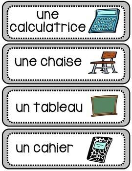À l'école - La Rentrée Flashcards