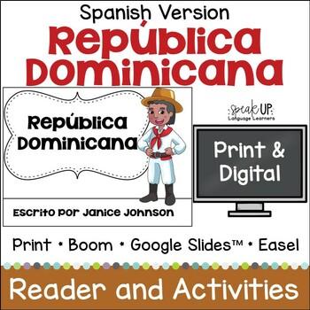 La República Domincana Reader ~ Dominican Republic  {en español} & Vocab pages