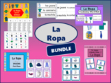 La Ropa BUNDLE -The Clothing Vocabulary in Spanish