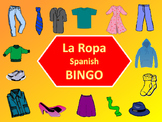 La Ropa Bingo – The Clothing Vocabulary in Spanish