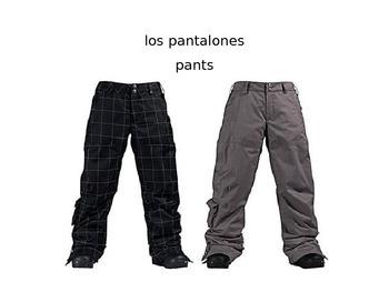 La Ropa: Clothing