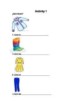 La Ropa / Clothing Bundle