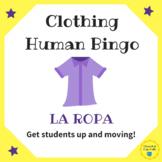 La Ropa Clothing Human Bingo