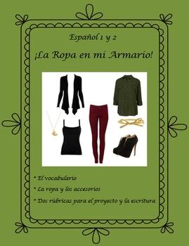La Ropa En Mi Armario - Un Proyecto - Male & Female outfits - Spanish 1