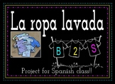 La Ropa Lavada: A quick and creative project to get to kno