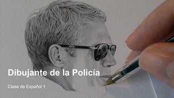 """La Ropa Listening Activity """"Dibujante de La Policía"""" Polic"""