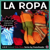 Clothes Pictorial Slide Show Series in Spanish/ La Ropa