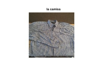 La Ropa Power Point Presentation