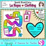 La Ropa Spanish Clothing Board Game