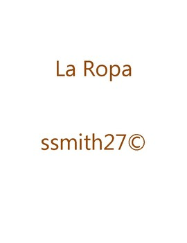 La Ropa - Spanish Clothing **Differentiated**