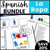 La Ropa Spanish Clothing Lesson Bundle