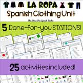La Ropa - Spanish Clothing UNIT: Differentiated Instructio