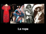 La Ropa - Spanish Clothing and Stem-Change Verbs (E to IE)